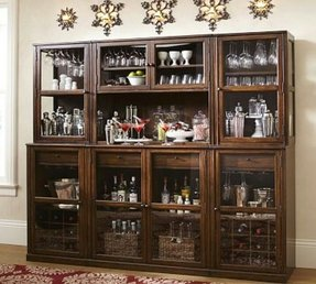 Glass home bar furniture 3