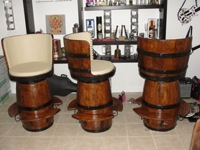 Wine Barrel Bar Stools Foter