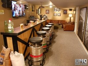 Keg bar stools