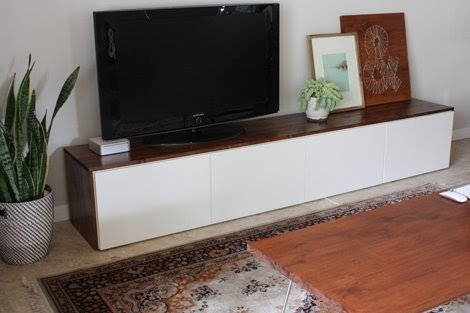 Low Profile Media Cabinet