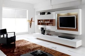 Modern home entertainment centers