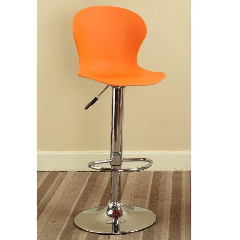 Awesome Orange Barstool 1