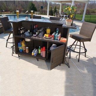 Portable Patio Bar - Foter on Portable Backyard Bar id=48277