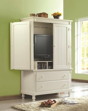 Fabulous Tv Armoire With Doors And Drawers - Foter EJ33