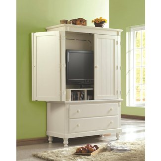 Tv Armoire With Doors And Drawers For