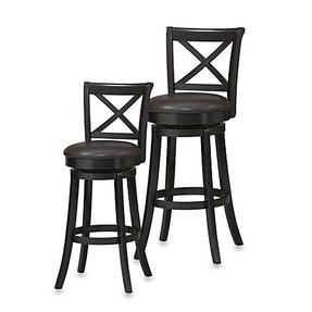 Solid Wood Swivel Bar Stools Foter
