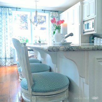Turquoise Bar Stools Foter