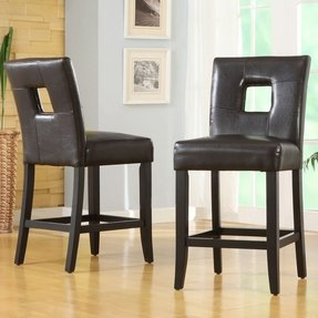 Upholstered bar stools with backs 9