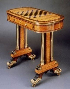 Vintage Game Table