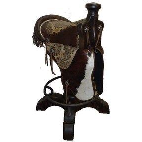 Horse Saddle Bar Stools For Sale Western Stools Foter