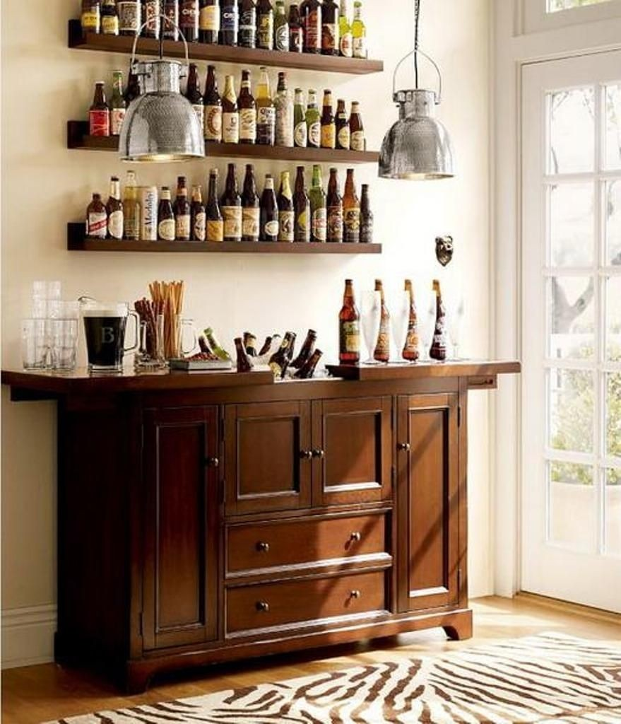 Perfect Wine And Liquor Cabinet