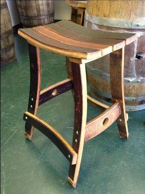 Wine Barrel Bar Stools Ideas On Foter