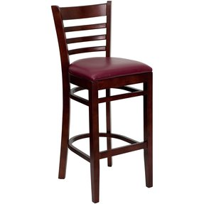 Wooden Bar Stools With Backs - Foter