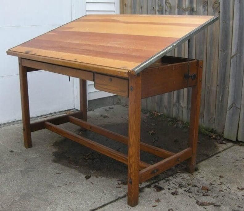 1940s Drafting Table My Dad Had One Of These And