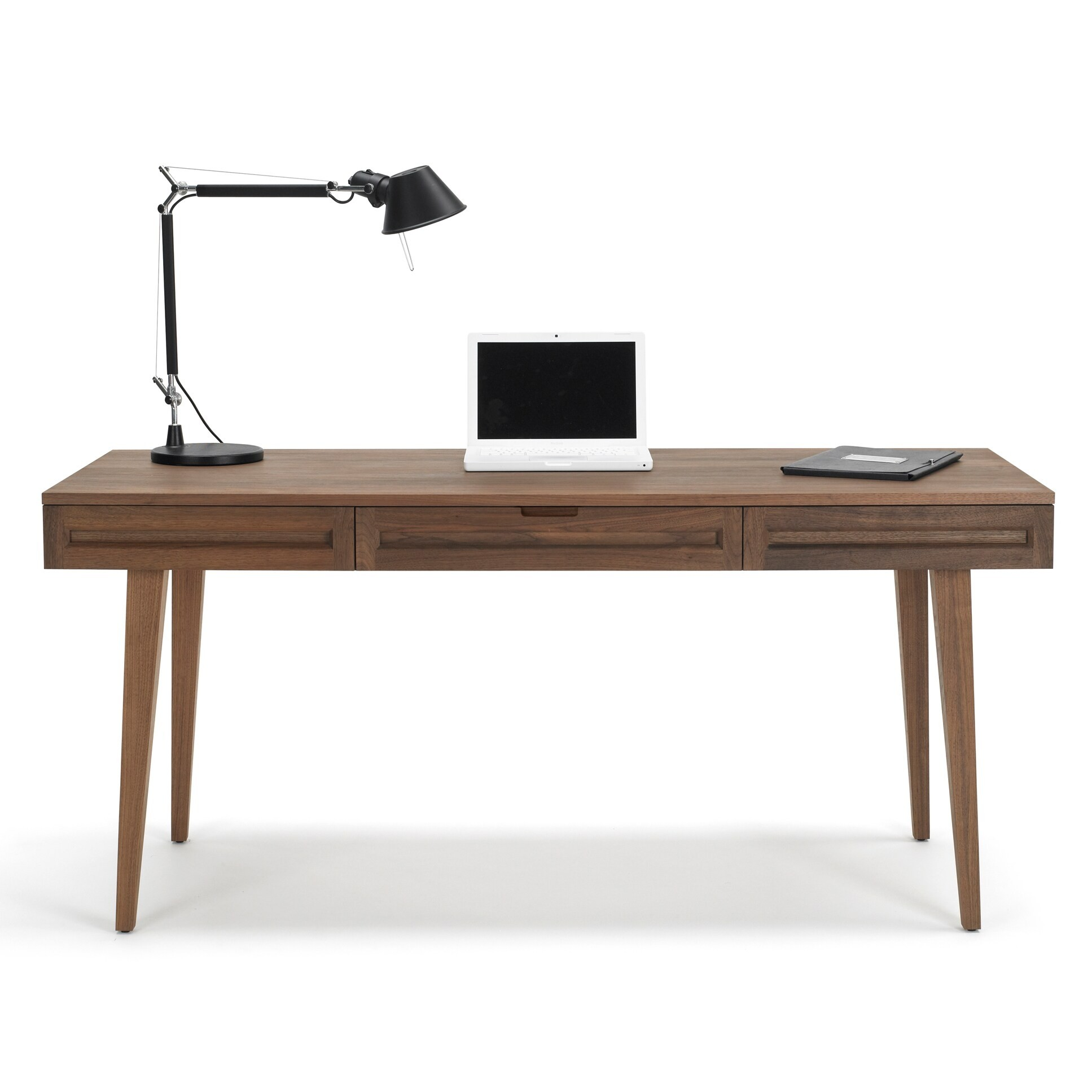 64 inch solid wood desk
