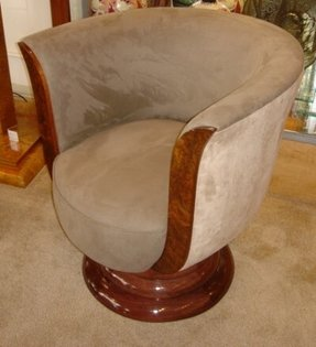 Art deco swivel chairs 6