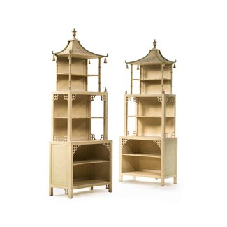 Asian bookcases 1