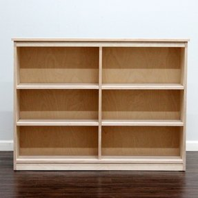 Birch bookcase 1