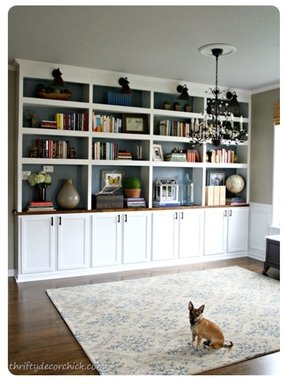 Black bookcases 1
