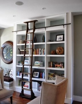 Bookcase ladders 10