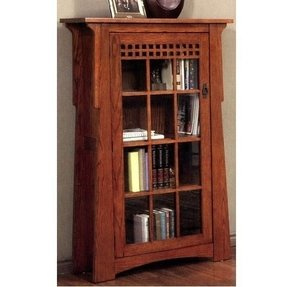 Bookcase mission style