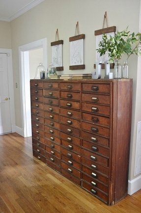 Card file cabinets
