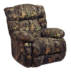 CATNAPPER 46092265715 Laredo Chaise Rocker Recliner, camouflage