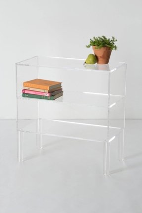 solid modern bookcase glass and or bookshelves lucite bookcases midcentury bookshelf