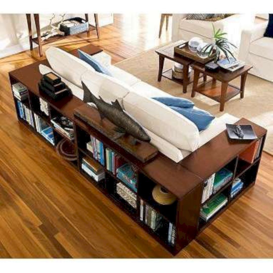 Marvelous Coffee Table Made From Books Photo