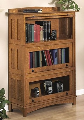 mission bookcase craftsman wood manchester style collections furniture