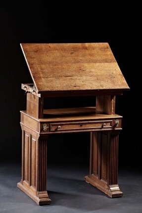 Drafting table vintage