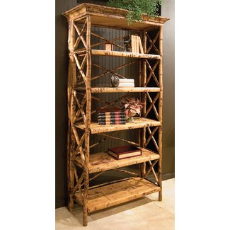 Faux Bamboo Bookcase 1