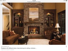 fireplaces used to hold ones literary collection bookcases are also useful storages and a display solution that is why it is tempting to have a - Fireplaces With Bookshelves