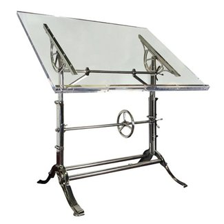 Glass drafting table 5