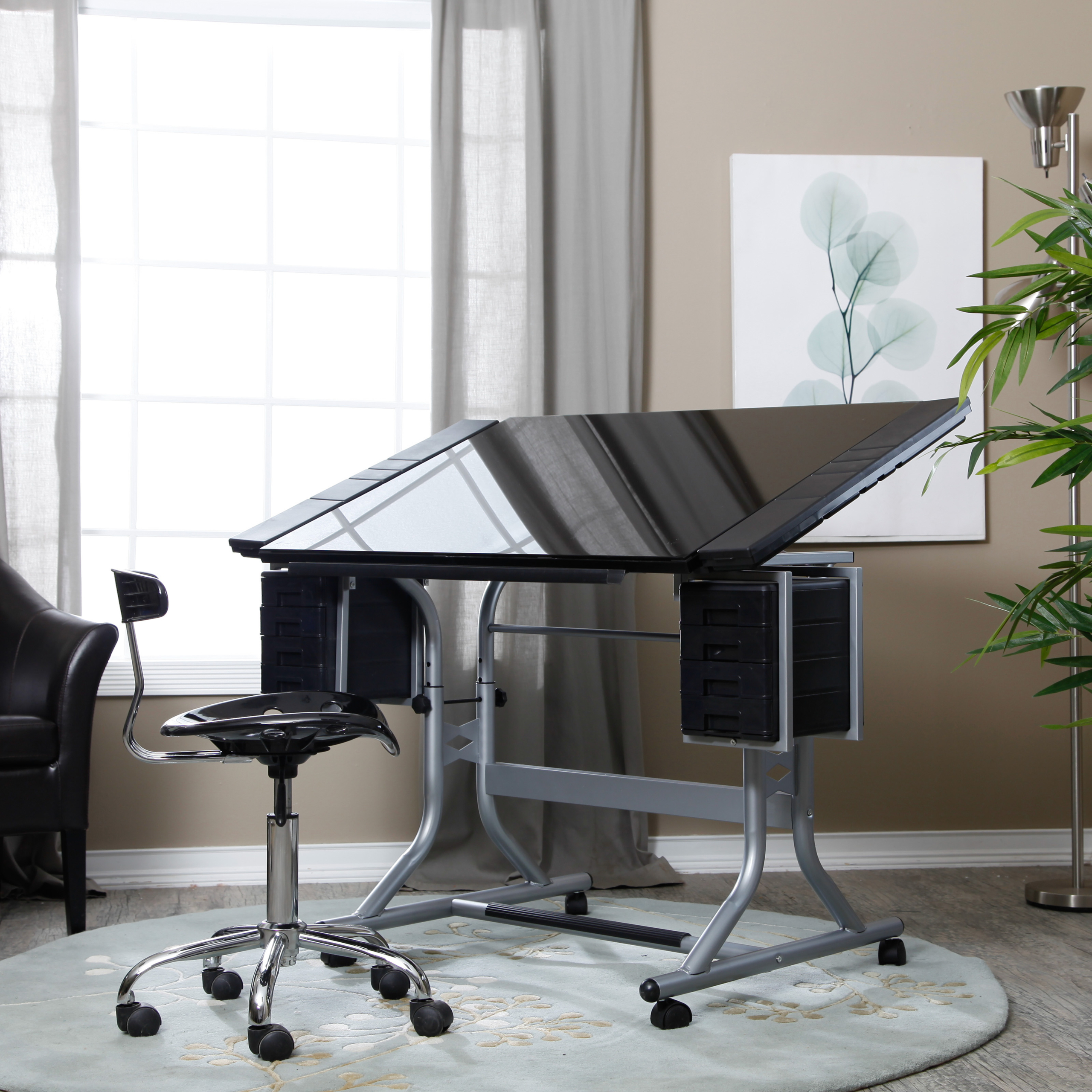 Glass Drafting Tables 1