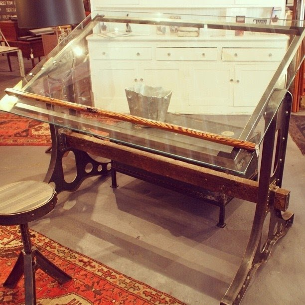 Glass Drafting Tables