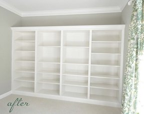 Ikea bookcases 1
