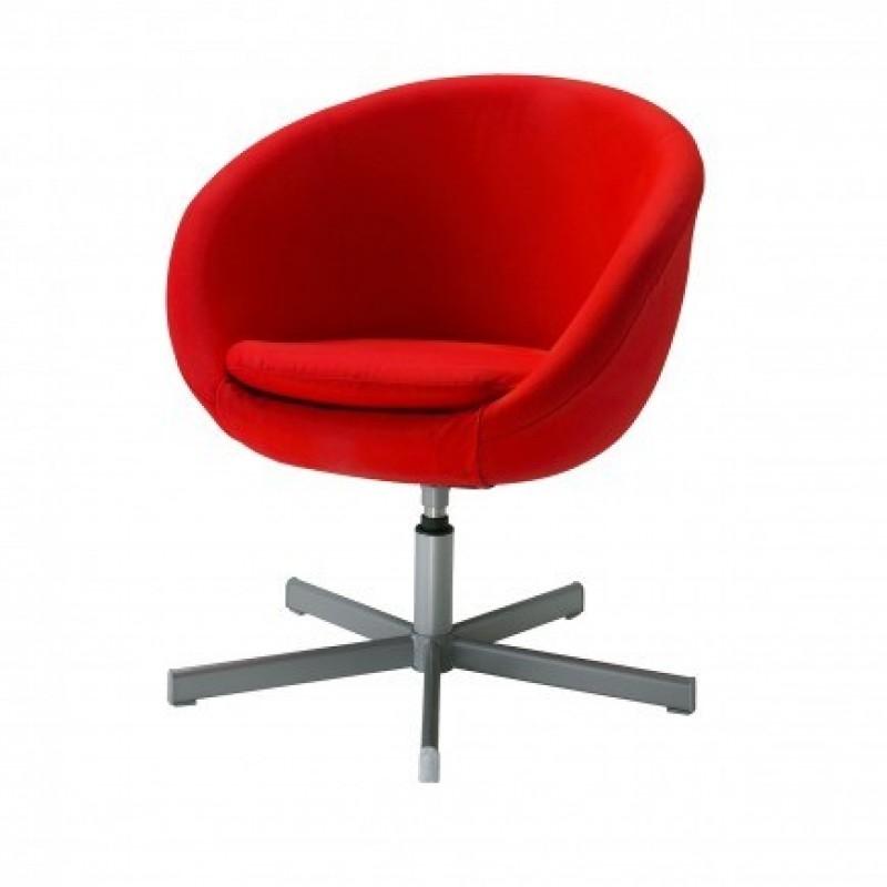 Merveilleux Ikea Skruvsta Red Swivel Chair Great Office Chair