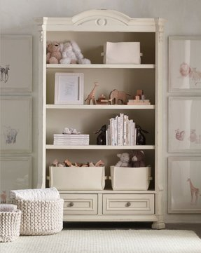 Ivory bookcases 35