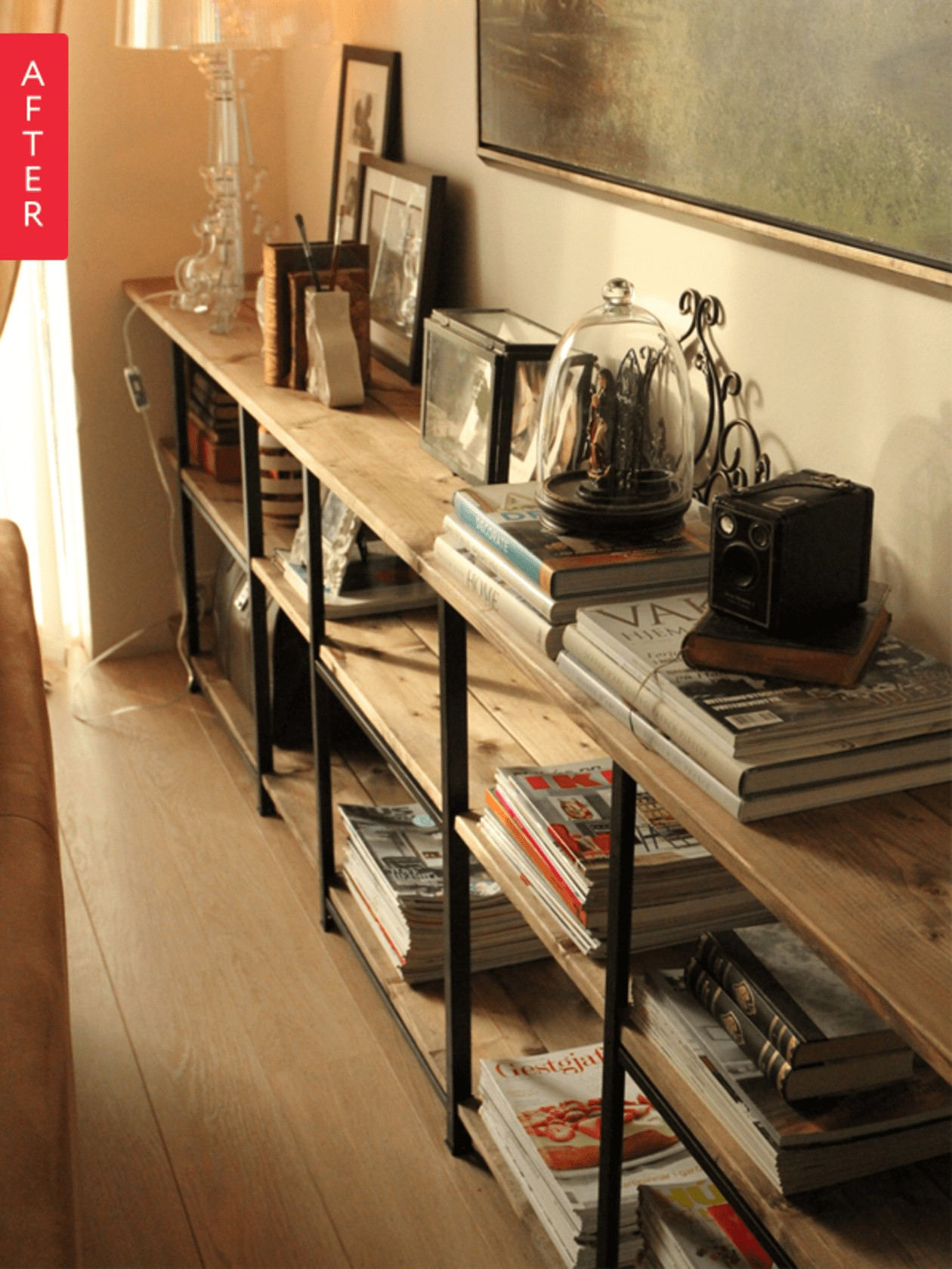 Living Room Shelving Unit
