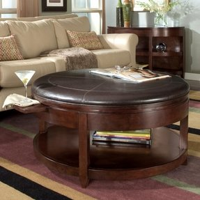 Magnussen Magnussen T1096-45 Newark Wood Round Coffee Table