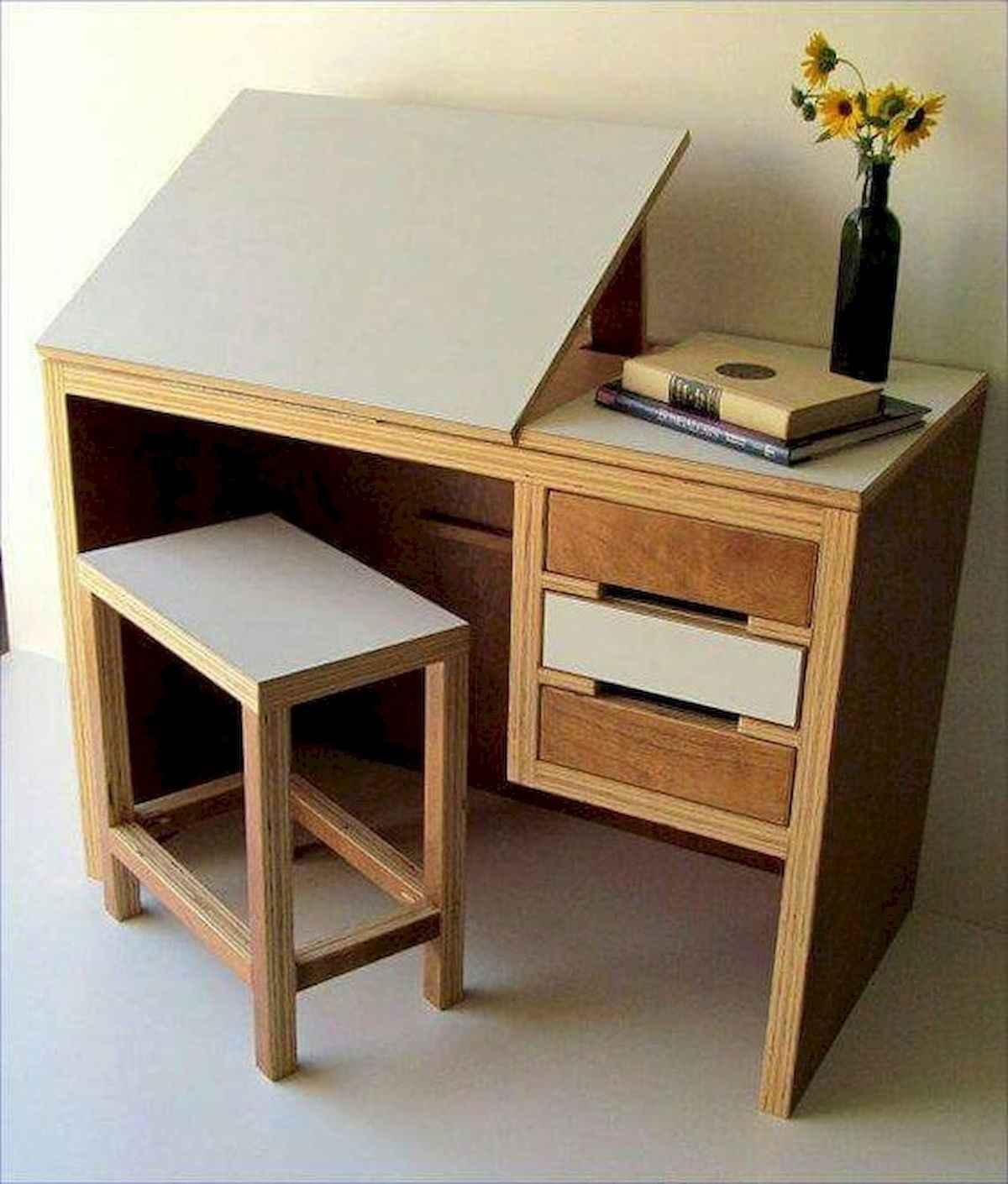 Admirable Drafting Table With Drawers Ideas On Foter Home Interior And Landscaping Mentranervesignezvosmurscom