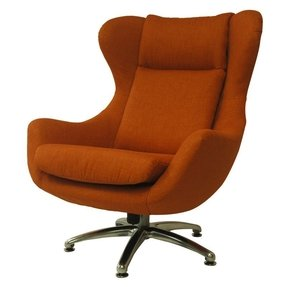 Modern orange chairs
