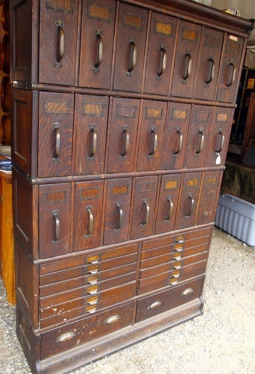 Multi Drawer Wooden Cabinet