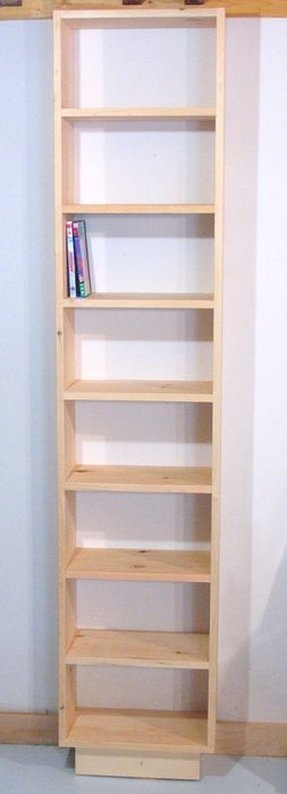 bookcase ladder and solid plus with drawer furniture painted white tall bookcases liberty wood dollhouse narrow doors