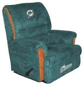 NFL Miami Dolphins Big Daddy Recliner