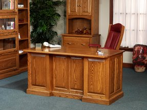 Oak home office desks