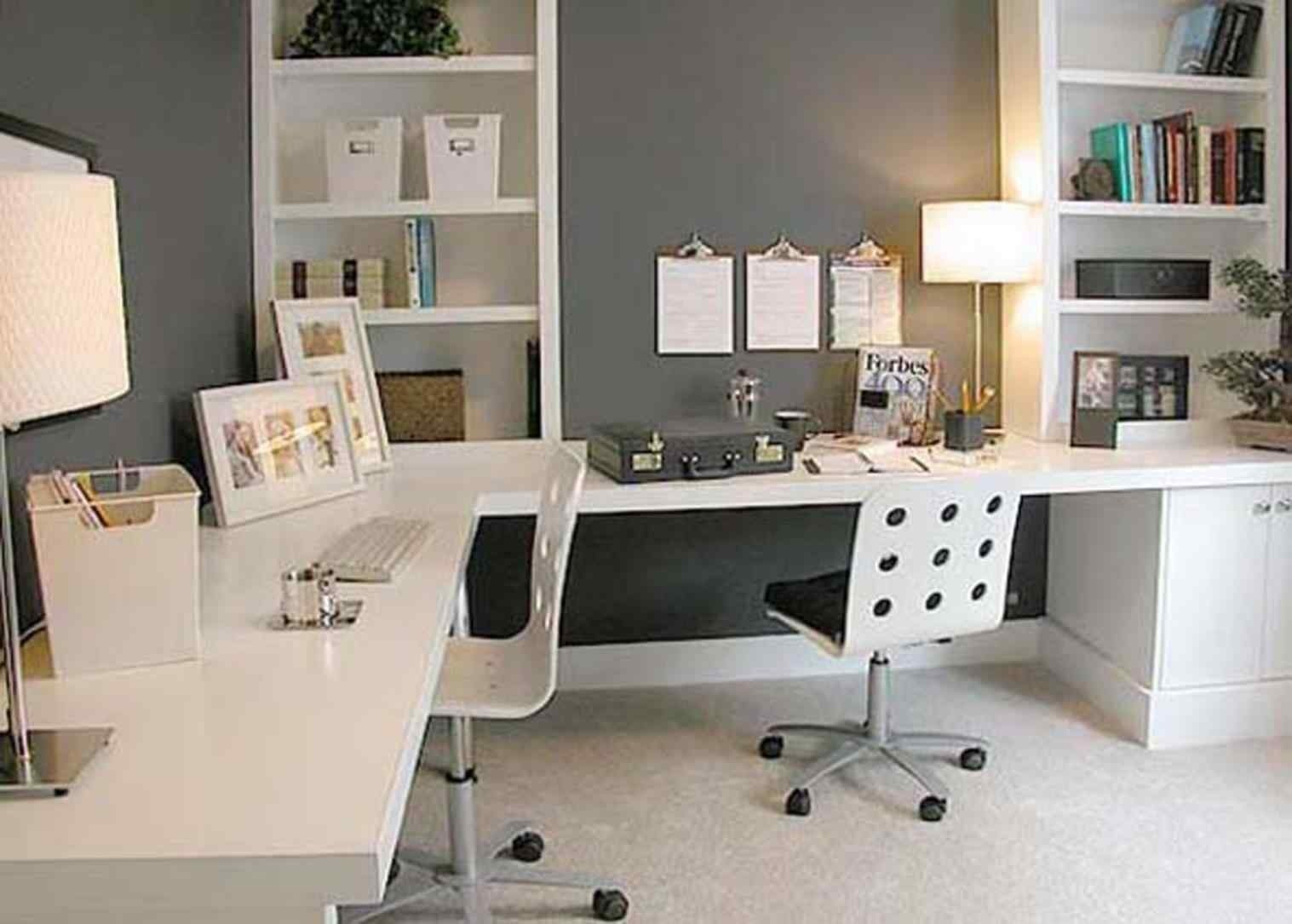 Superbe Office Desk For Two People