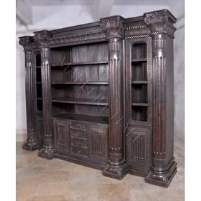 Old World Bookcase