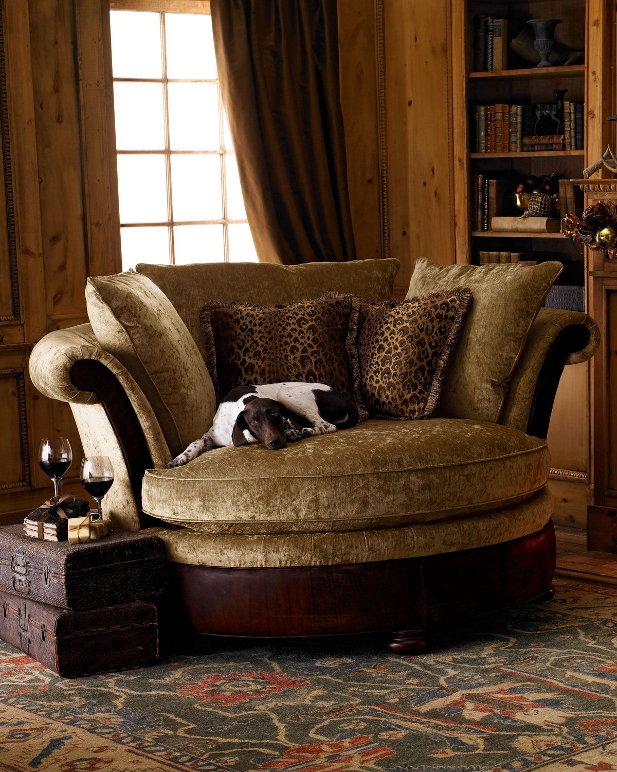 Charming Old World Style Sofa